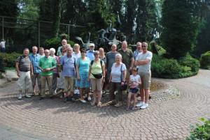 Teilnehmer der Vereinsfahrt zum  Weltvogelpark Walsrode